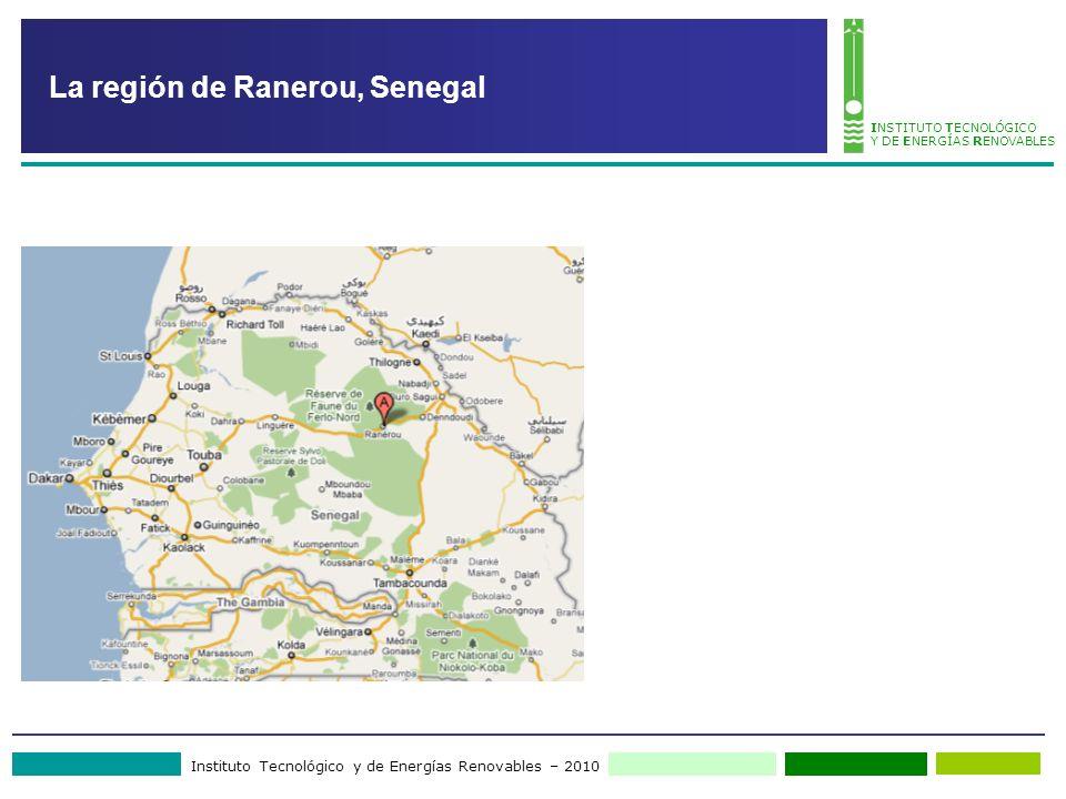 Instituto Tecnológico y de Energías Renovables – 2010 INSTITUTO TECNOLÓGICO Y DE ENERGÍAS RENOVABLES La región de Ranerou, Senegal