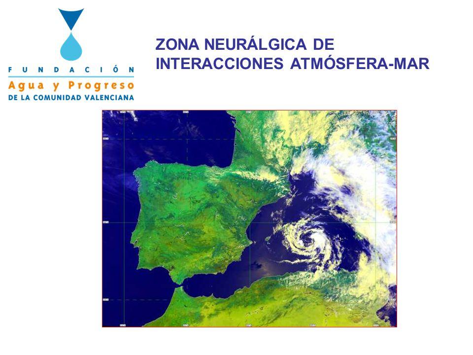 ZONA NEURÁLGICA DE INTERACCIONES ATMÓSFERA-MAR