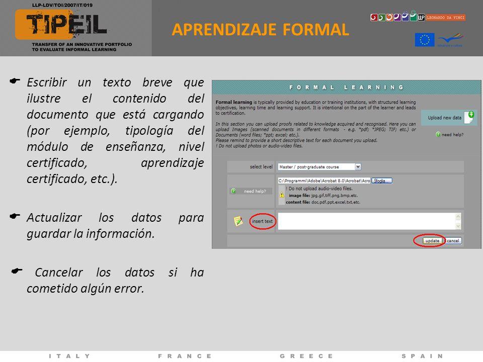 Escribir un texto breve que ilustre el contenido del documento que está cargando (por ejemplo, tipología del módulo de enseñanza, nivel certificado, aprendizaje certificado, etc.).
