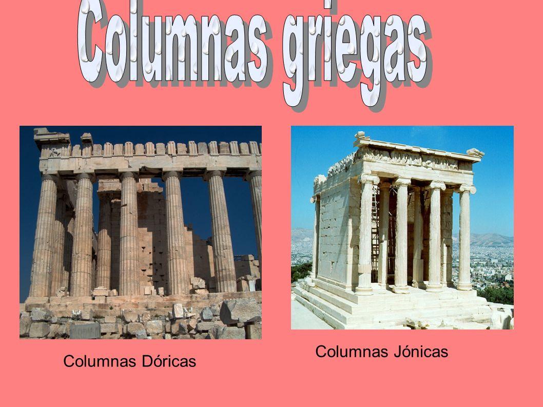 Columnas corintiasCariátides