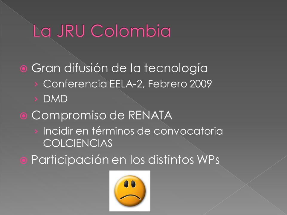 Fomentar el uso de mallas computacionales como una herramienta para solucionar problemas que necesiten alto nivel de cómputo Ofrecer servicios de Grid para toda la comunidad de investigación nacional Participar en proyectos a nivel nacional e internacional Promover la colaboración entre grupos de investigación colombianos y de ellos con sus pares internacionales Constituir un Grid de escala nacional en Colombia que reúna clusters y Grids de universidades e instituciones haciendo uso de las redes de tecnología avanzada