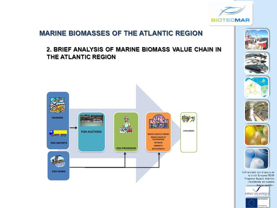 Cofinanciado con el apoyo de la Unión Europea FEDER Programa Espacio Atlántico «Invirtiendo en nuestro futuro comÚn» MARINE BIOMASSES OF THE ATLANTIC REGION 2.
