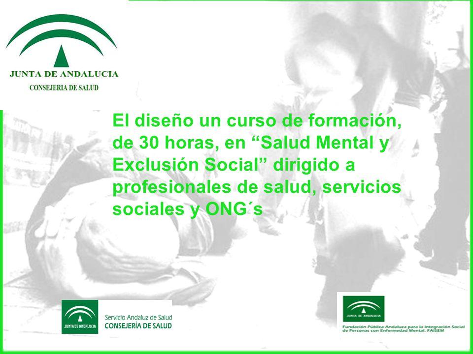 La realización de este curso en las ciudades de Málaga, Sevilla y Granada, entre noviembre 2010 y marzo 2011