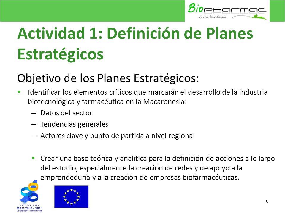 Actividad 1: Definición de Planes Estratégicos Objetivo de los Planes Estratégicos: Identificar los elementos críticos que marcarán el desarrollo de l