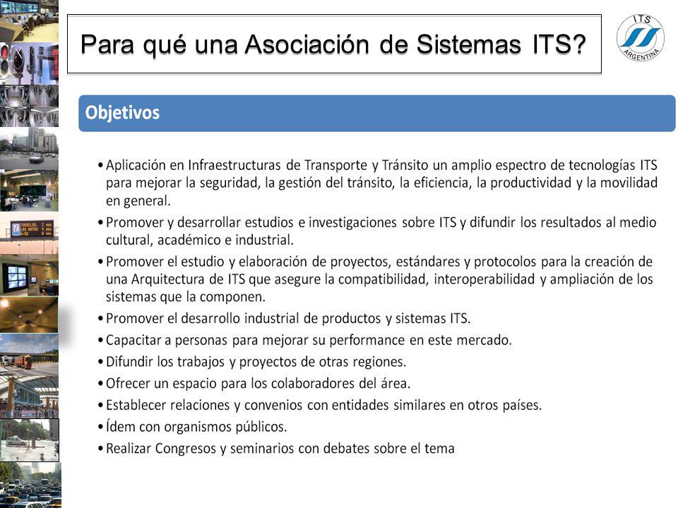 Para qué una Asociación de Sistemas ITS?