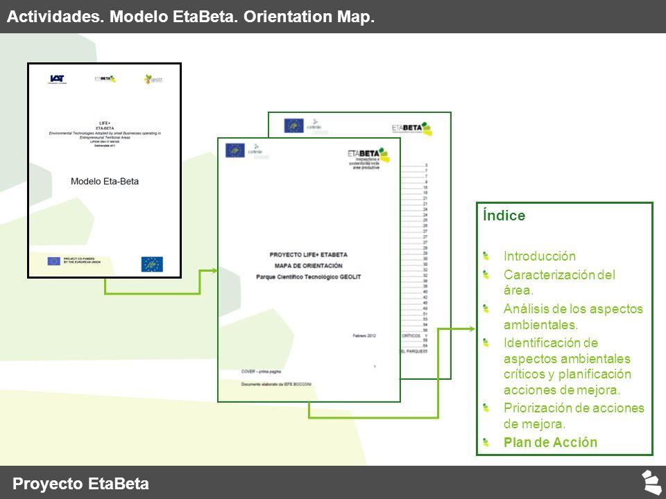 Índice Introducción Caracterización del área. Análisis de los aspectos ambientales.
