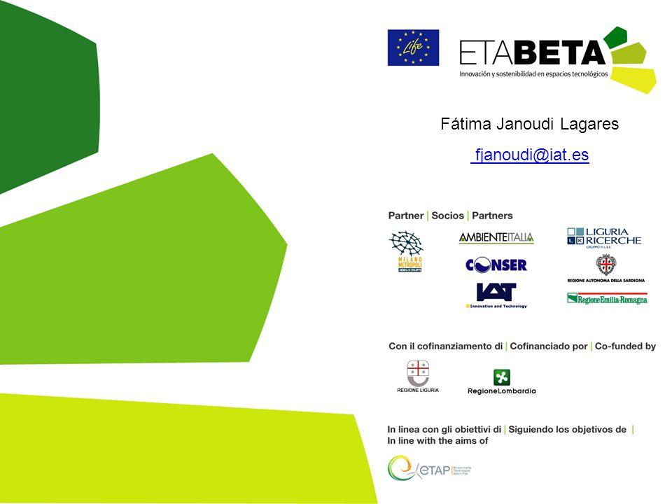 Fátima Janoudi Lagares fjanoudi@iat.esjanoudi@iat.es