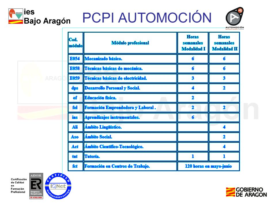 PCPI AUTOMOCIÓN