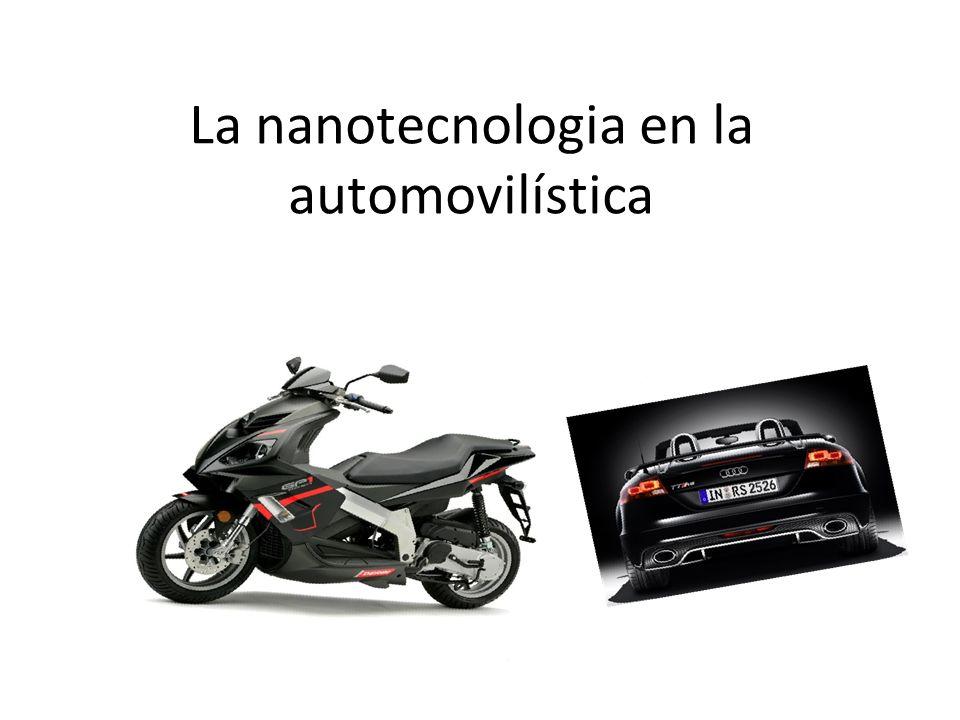 La nanotecnologia en la automovilística