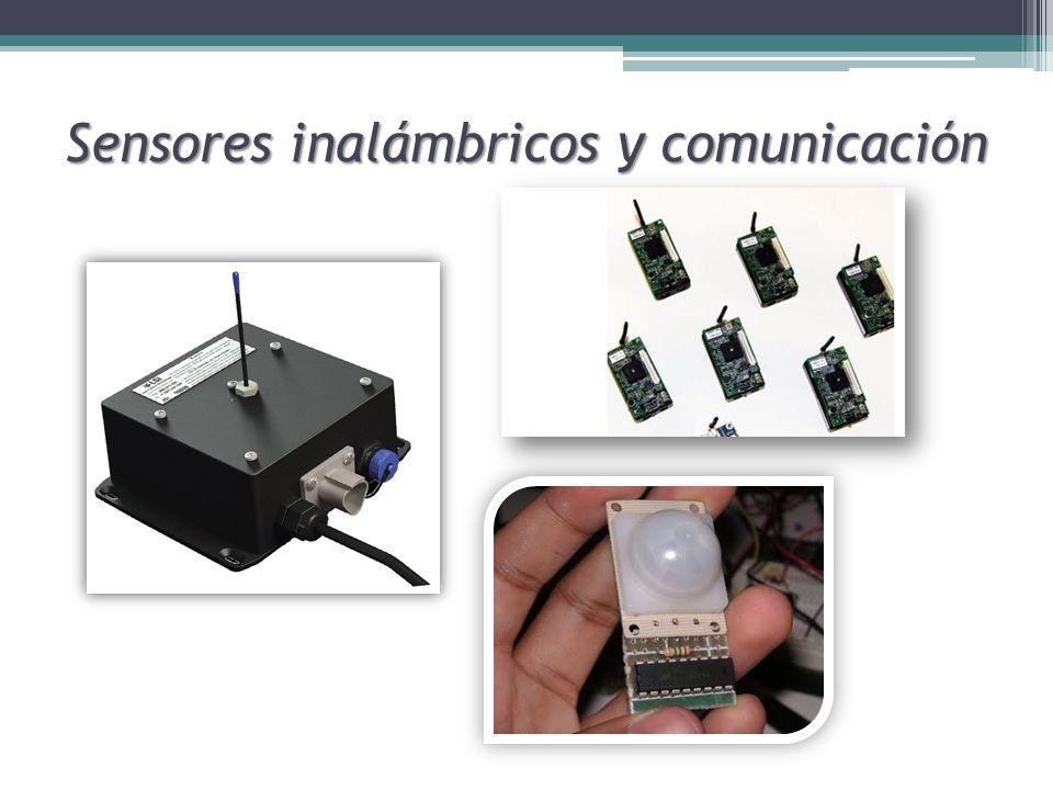 Sensores inalámbricos y comunicación