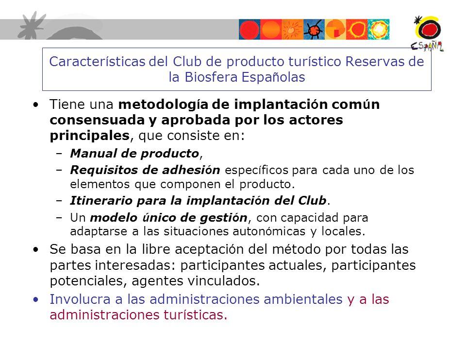 Elaboran candidaturas de ENP para adherirse a la CETS o al club RBE Ejecución de Planes de Acción CETS / RB (ejecución progr.