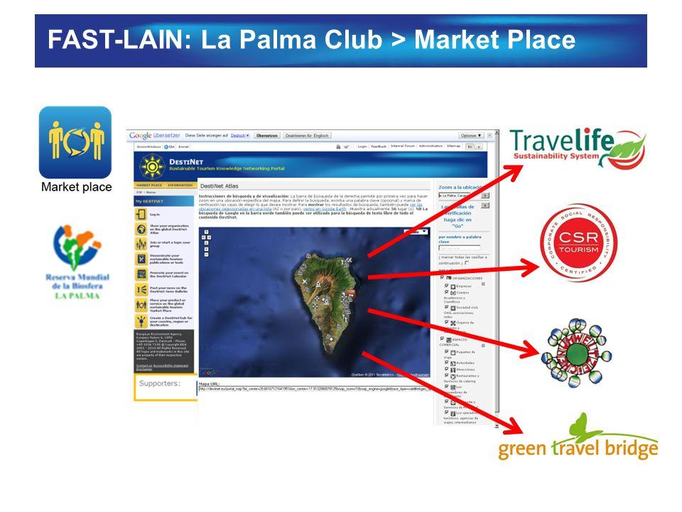 FAST-LAIN: La Palma Club > Market Place