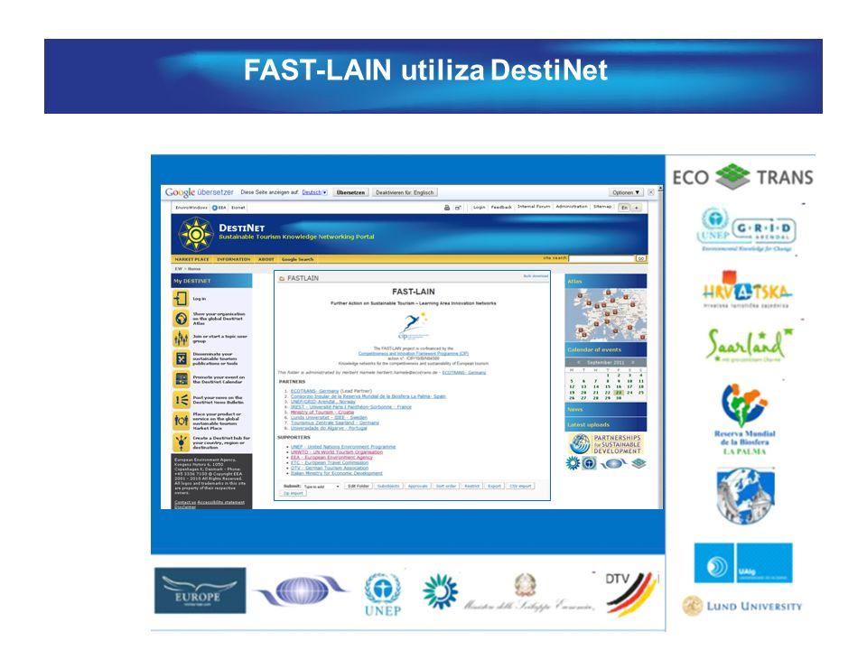 FAST-LAIN utiliza DestiNet