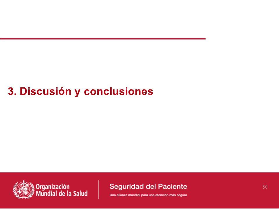 3. Discusión y conclusiones 50