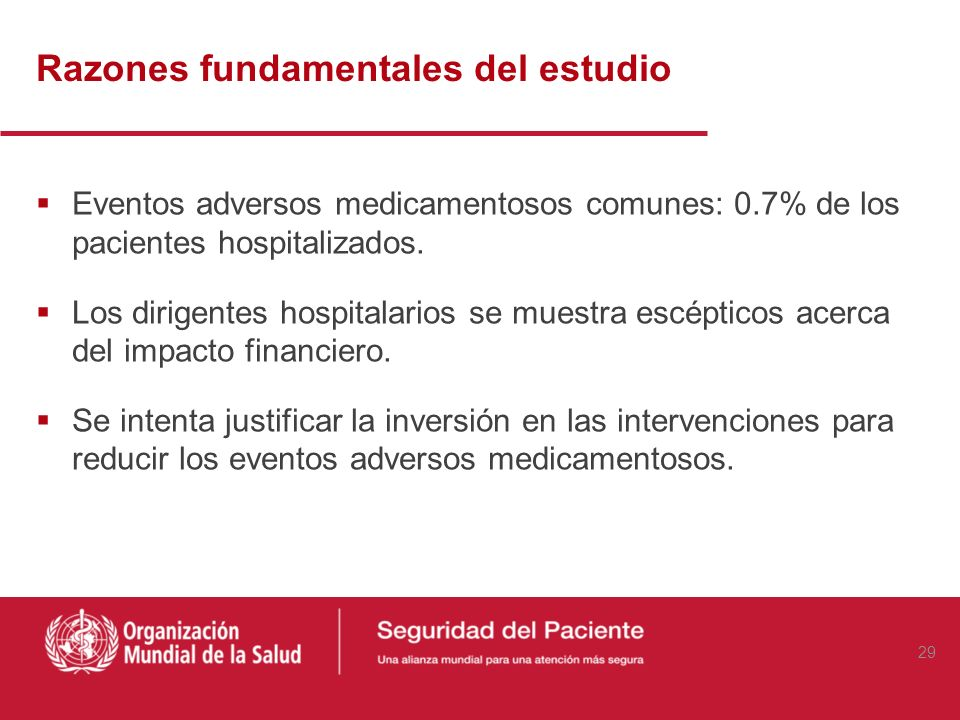 DW, Spell N, Cullen DJ, et al. Los costos de los eventos adversos de pacientes hospitalizados JAMA 1997;277:307-11 Link to Abstract (HTML) 28