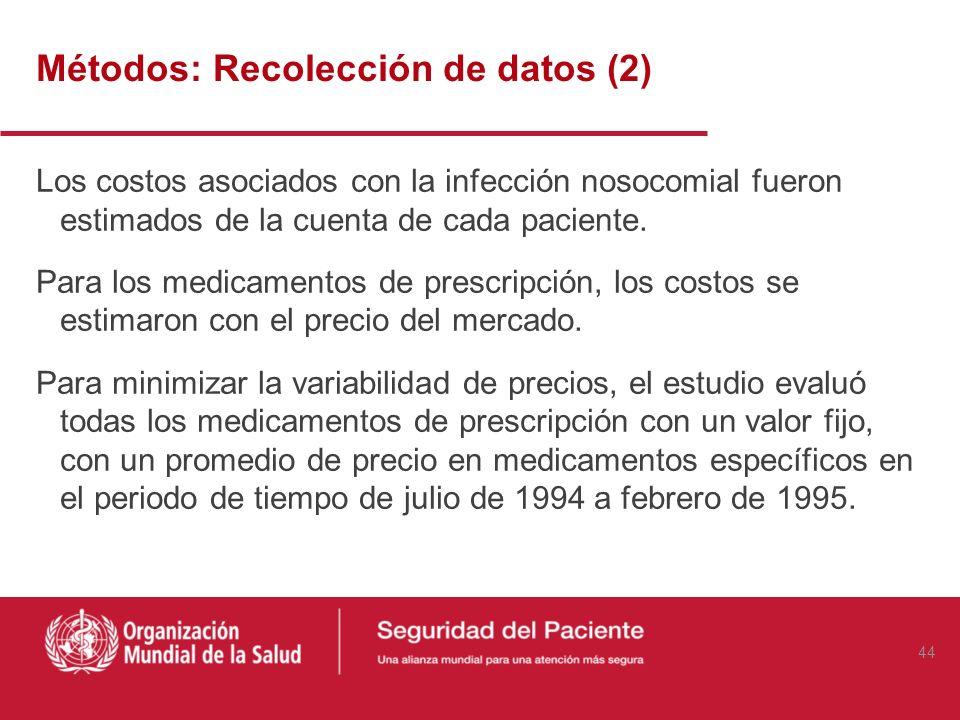 Métodos: Recolección de Datos La información de los pacientes fue obtenida de sus registros médicos detallados durante este periodo de 3 meses. El apa