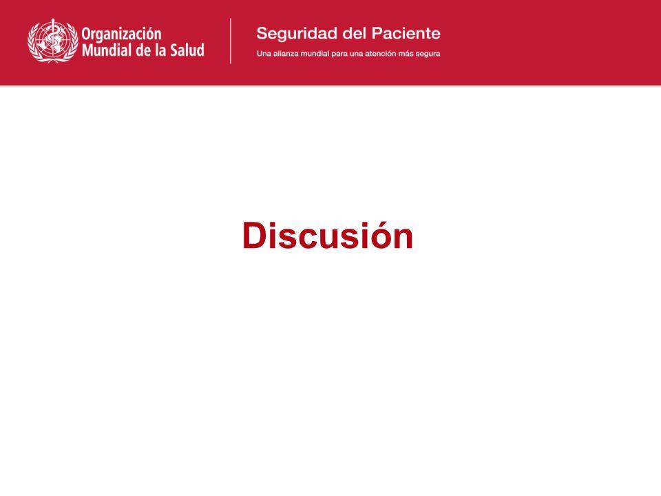 Conclusión Se puede evaluar el impacto de las intervenciones, en términos de resultados o procesos y la cultura de base. Es necesario comprometer a lo