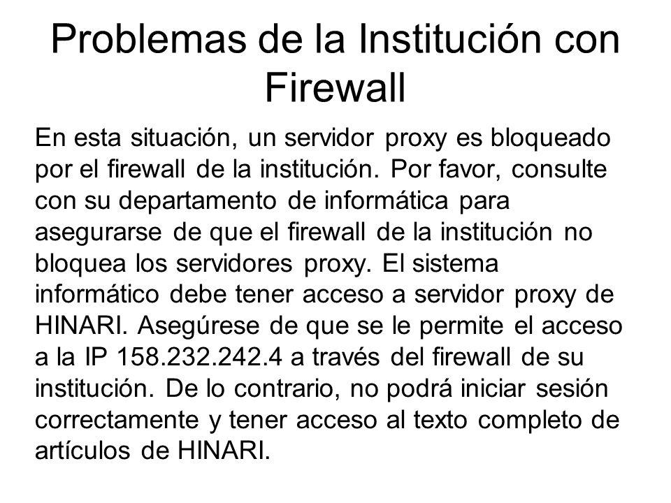 Accessing journals by title 1 NOTA: Si tiene problemas al acceder a una revista de texto completo de HINARI / PubMed (no a través de los enlaces de la página principal de HINARI), hay otro paso a revisar.