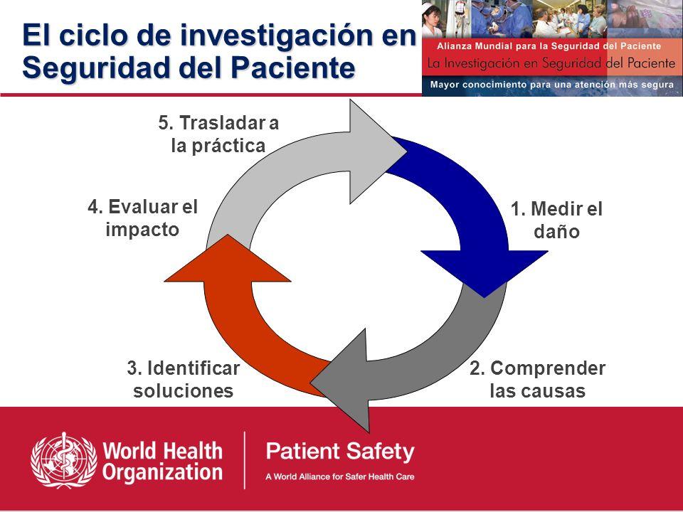 Seguridad del paciente Ausencia, prevención y mejora de resultados adversos originados como consecuencia de la atención sanitaria. Profesional: Buenas