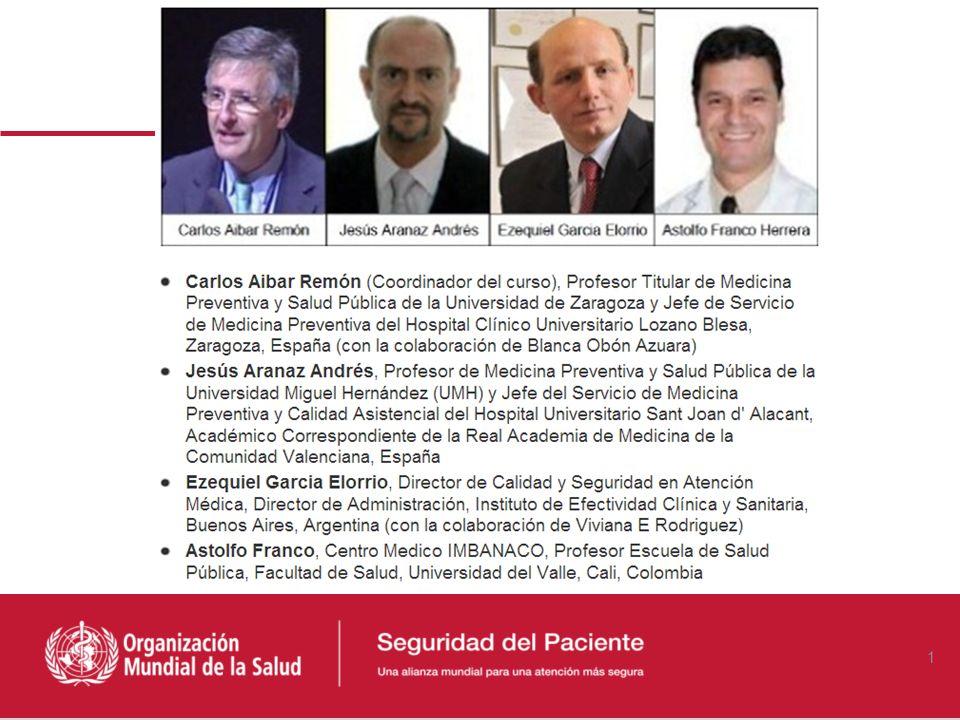 ¿Qué es Seguridad del Paciente? Carlos Aibar Remón MD Departamento de Microbiología, Medicina Preventiva y Salud Pública Hospital Clínico Universitari