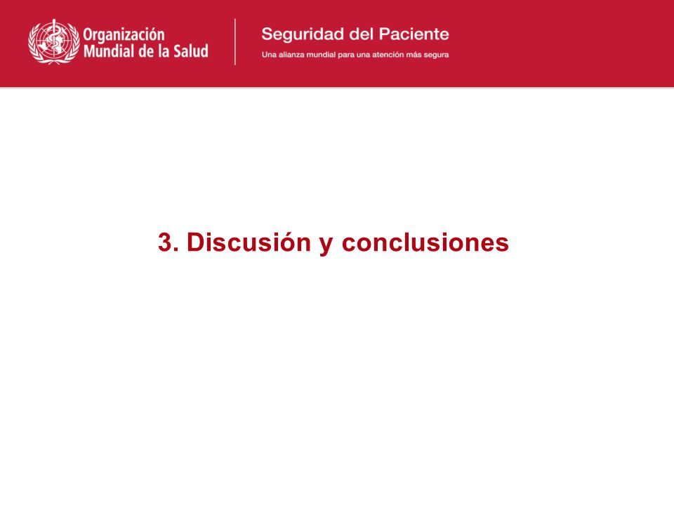 3. Discusión y conclusiones
