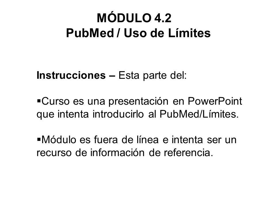 Limit by Publication Date En la opción de límite Published in the Last…, escribimos 1999 en el recuadro de fecha de publicación.