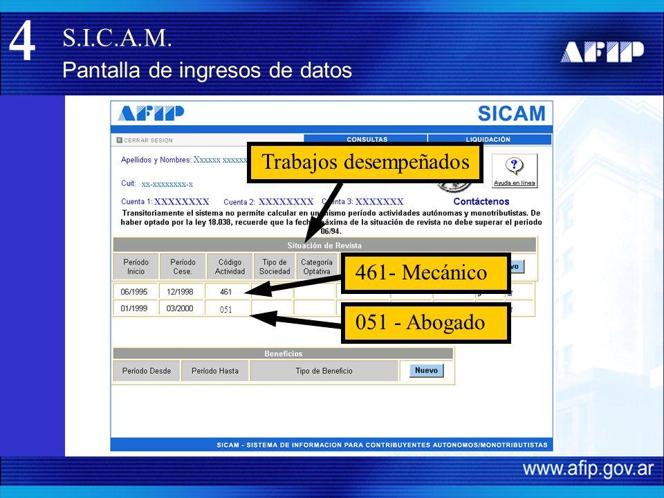 S.I.C.A.M.