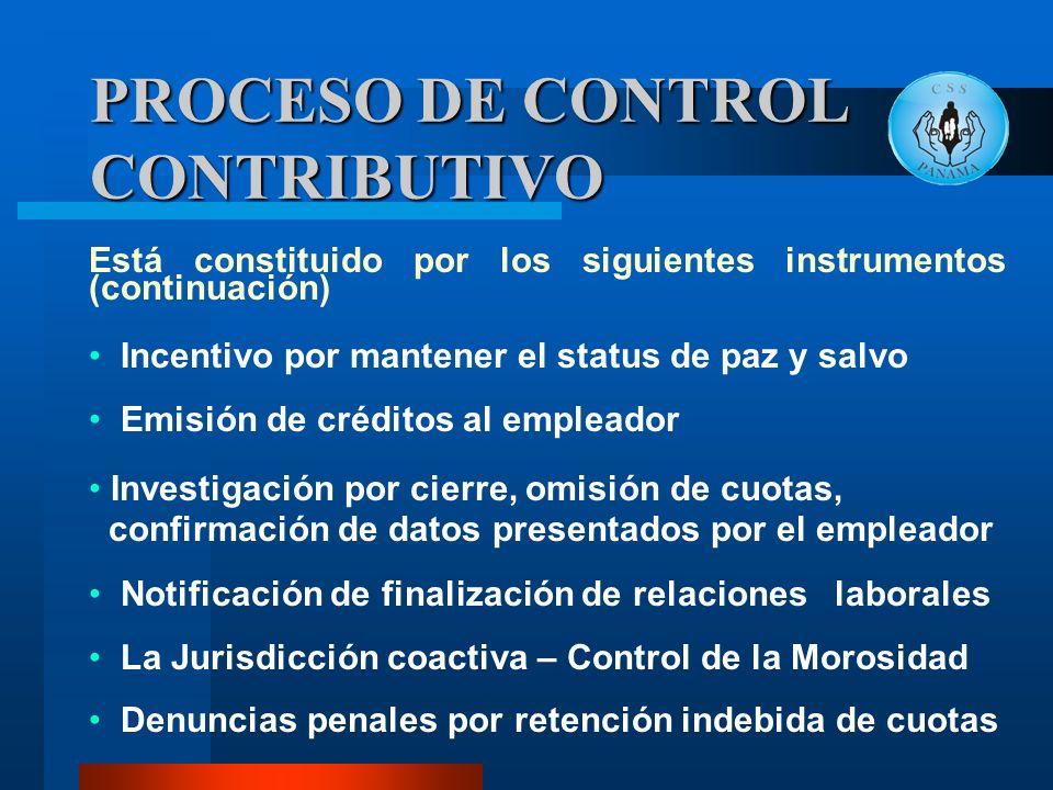 Está constituido por los siguientes instrumentos (continuación) Incentivo por mantener el status de paz y salvo Emisión de créditos al empleador Inves