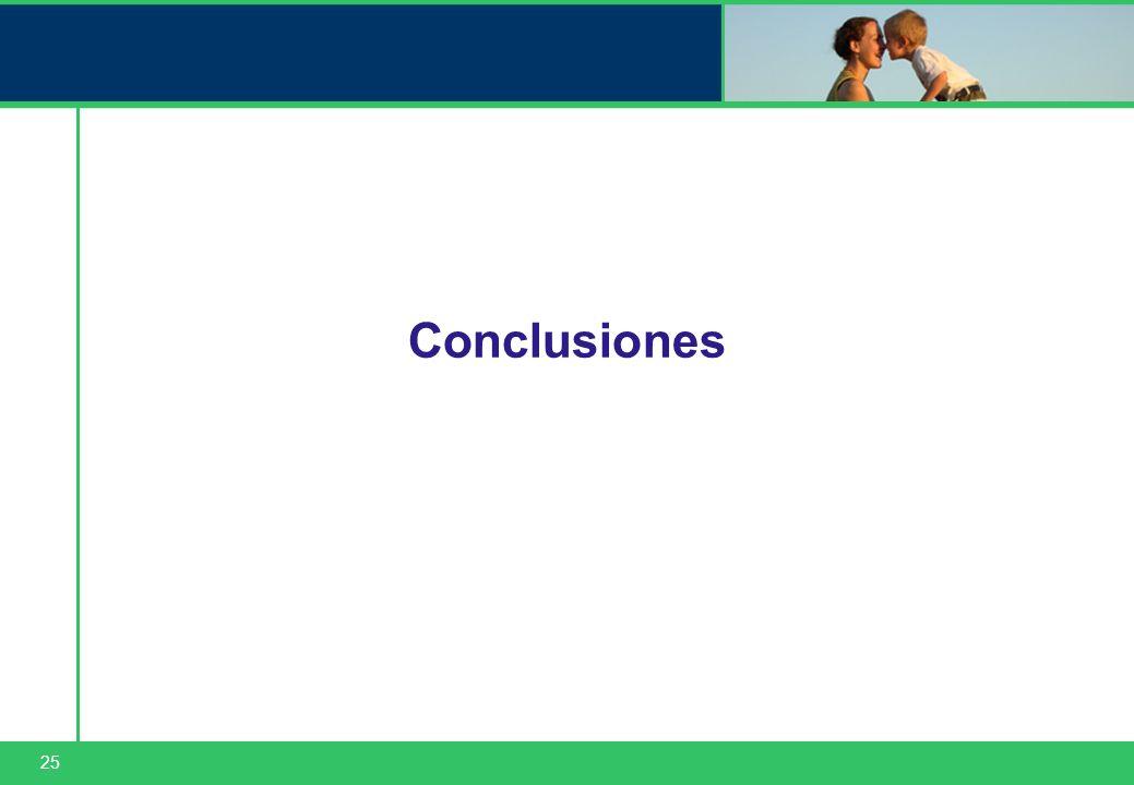 25 Conclusiones