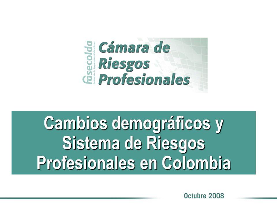 Cambios demográficos y Sistema de Riesgos Profesionales en Colombia