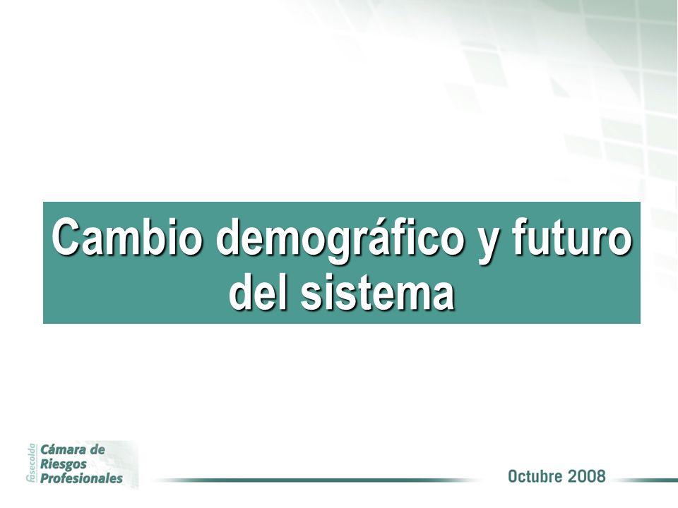 COBERTURA Cambio demográfico y futuro del sistema