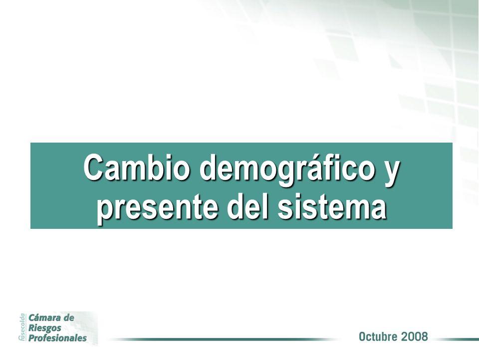 COBERTURA Cambio demográfico y presente del sistema