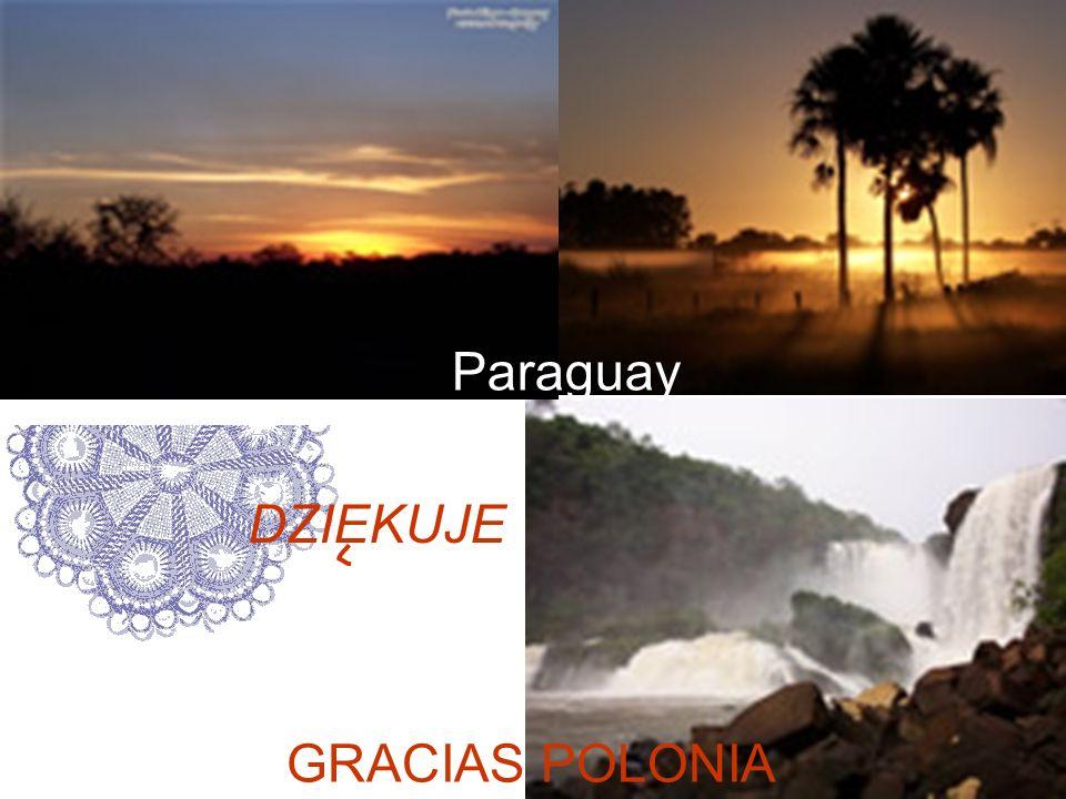 27 Paraguay GRACIAS POLONIA DZIEKUJE