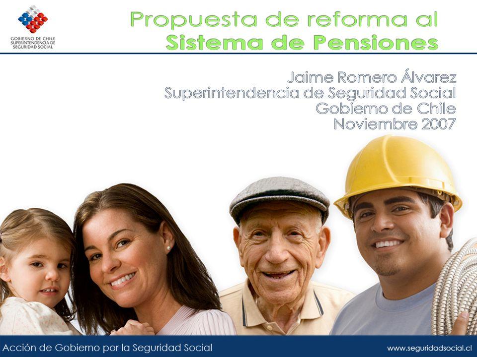 Se entregará un sistema de Pensiones Solidarias que entregará beneficios de vejez e invalidez Pensión básica solidaria (PBS) Aporte Previsional Solidario (APS)