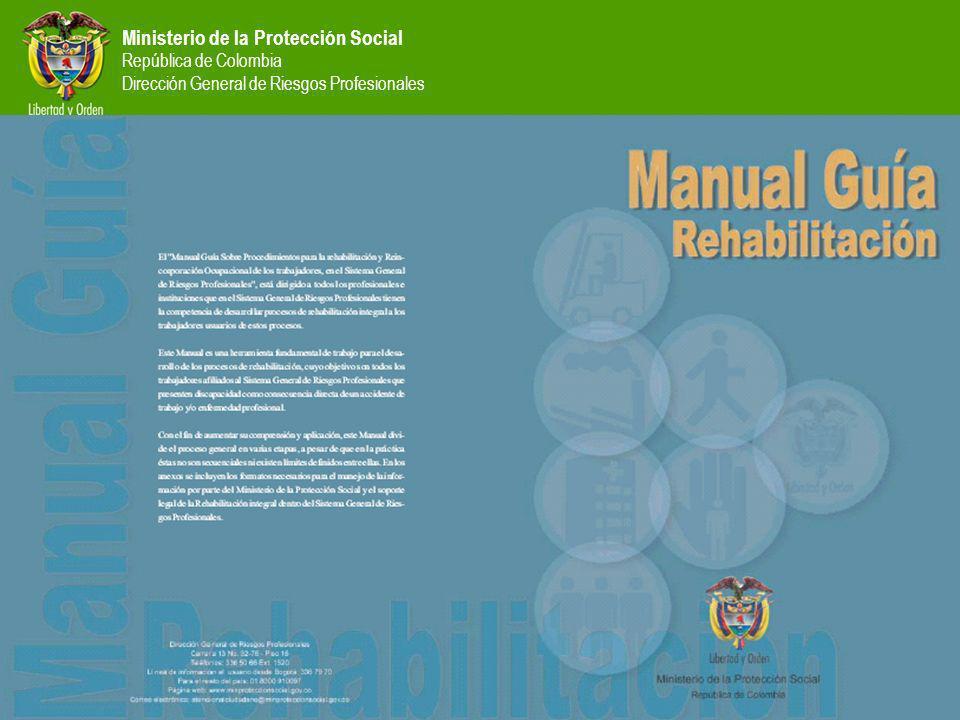 Ministerio de la Protección Social República de Colombia Dirección General de Riesgos Profesionales