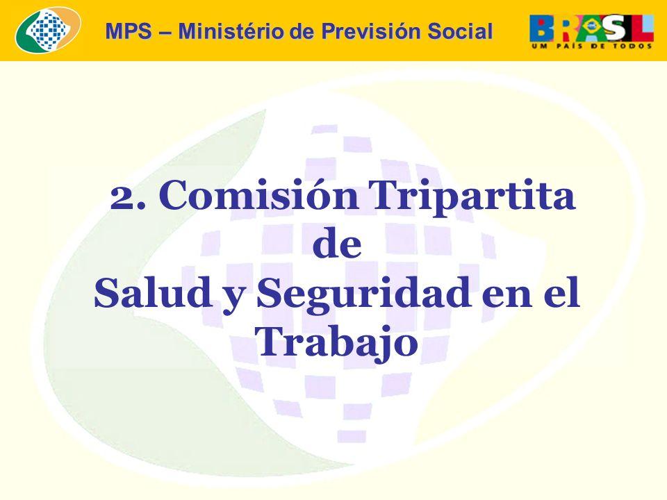 MPS – Ministério de Previsión Social 2. Comisión Tripartita de Salud y Seguridad en el Trabajo