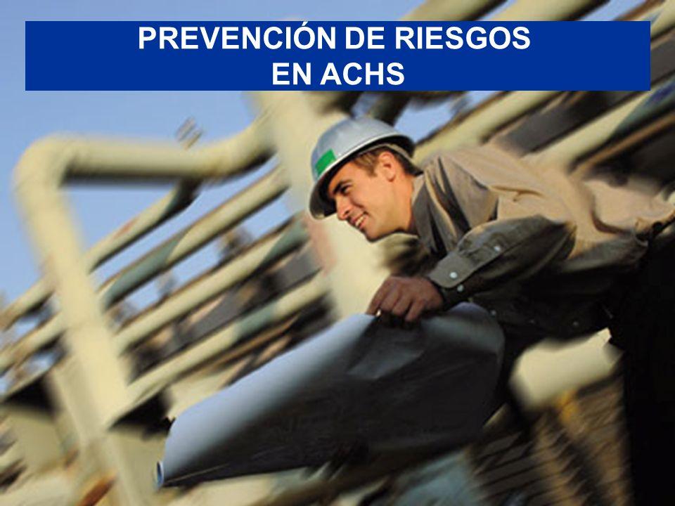 María Paz Figueroa Subgerente de Estudios Asociación Chilena de Seguridad PREVENCIÓN DE RIESGOS EN ACHS