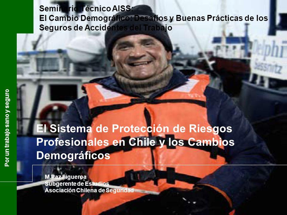María Paz Figueroa Subgerente de Estudios Asociación Chilena de Seguridad Por un trabajo sano y seguro El Sistema de Protección de Riesgos Profesional