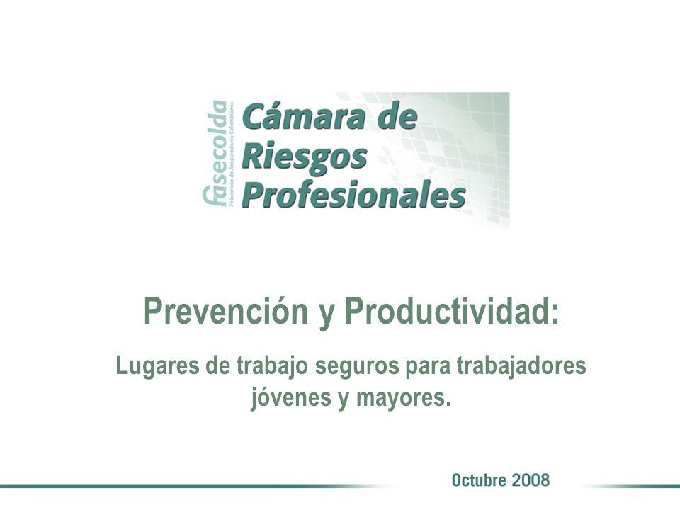 Prevención y Productividad: Lugares de trabajo seguros para trabajadores jóvenes y mayores.