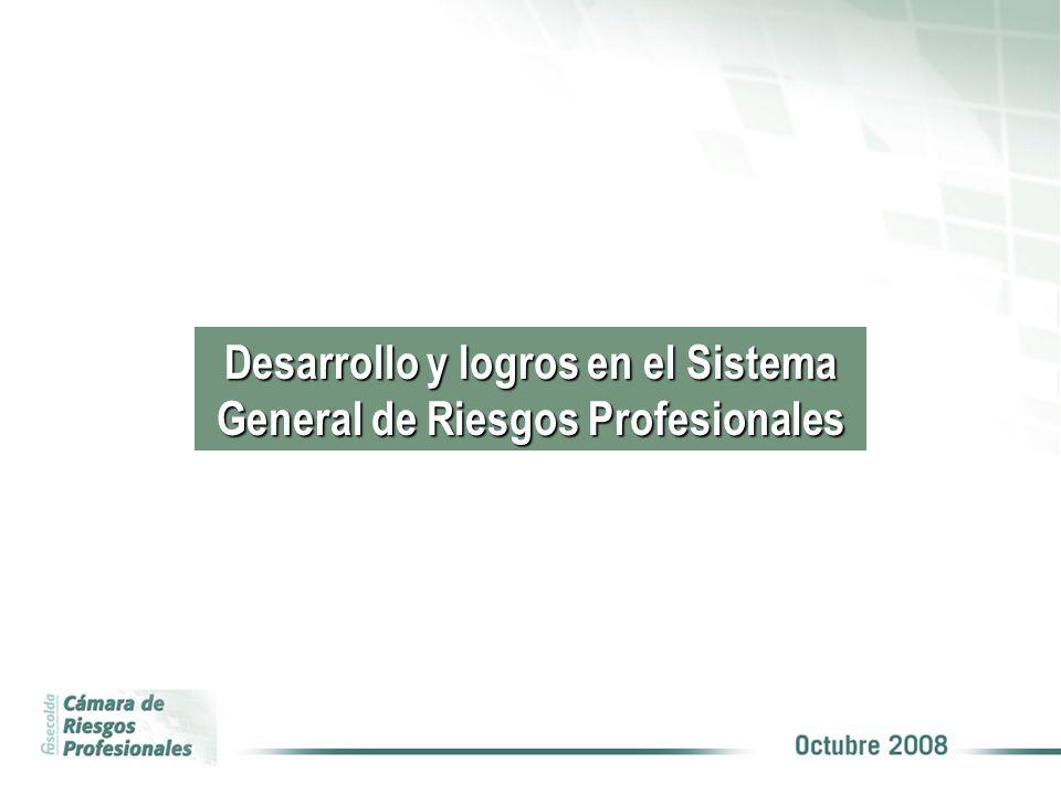 Desarrollo y logros en el Sistema General de Riesgos Profesionales