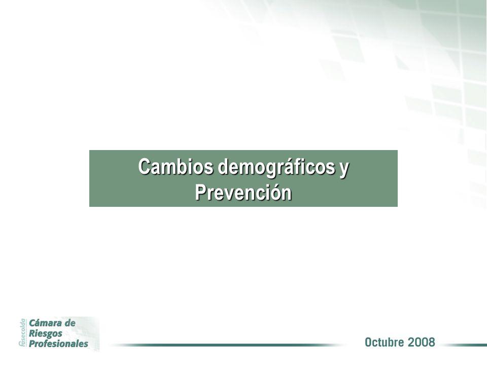 Cambios demográficos y Prevención