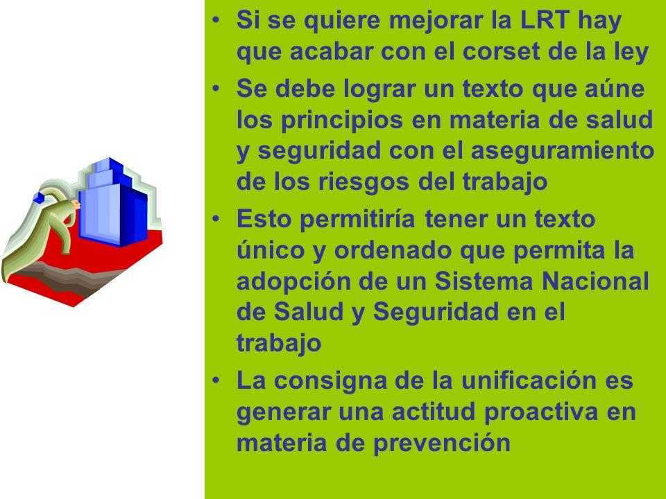 Dr Héctor Oscar Verón Si se quiere mejorar la LRT hay que acabar con el corset de la ley Se debe lograr un texto que aúne los principios en materia de