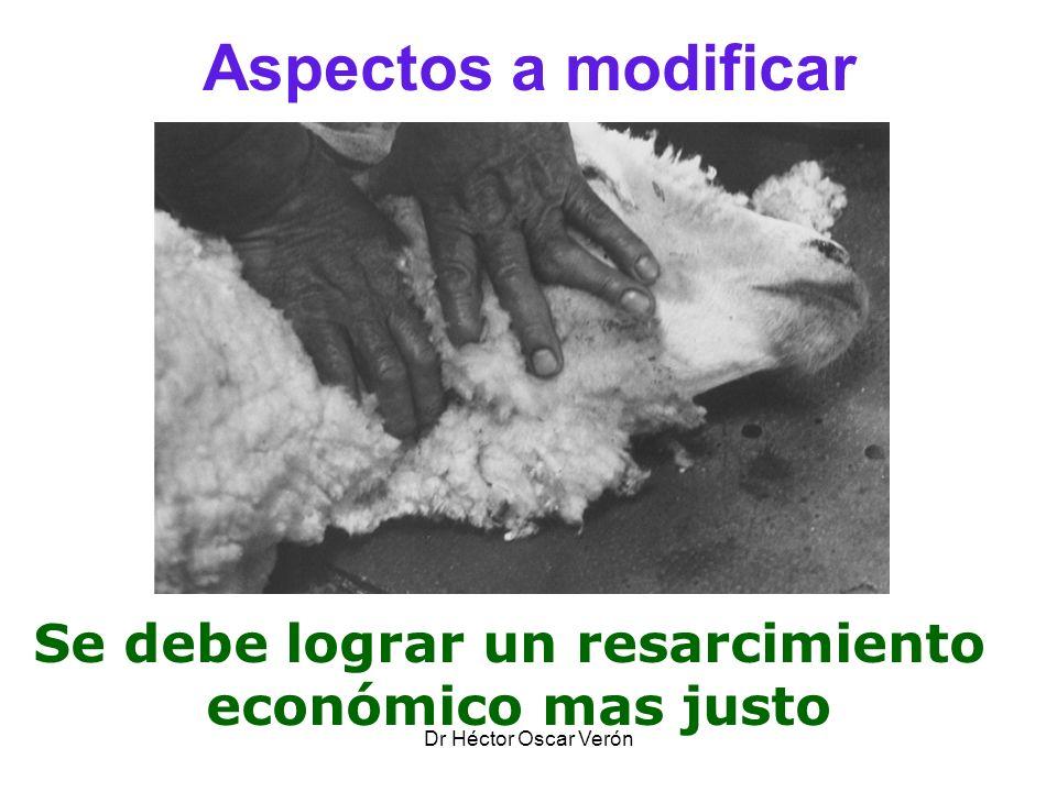 Dr Héctor Oscar Verón Aspectos a modificar Se debe lograr un resarcimiento económico mas justo