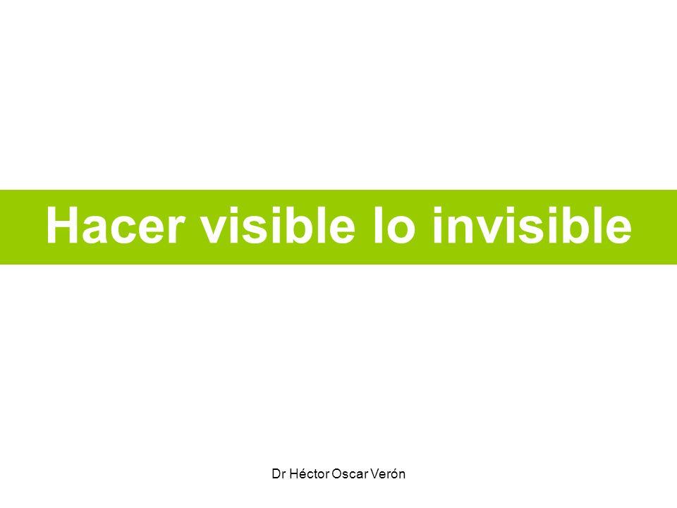 Dr Héctor Oscar Verón Hacer visible lo invisible