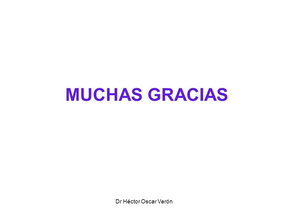 Dr Héctor Oscar Verón MUCHAS GRACIAS