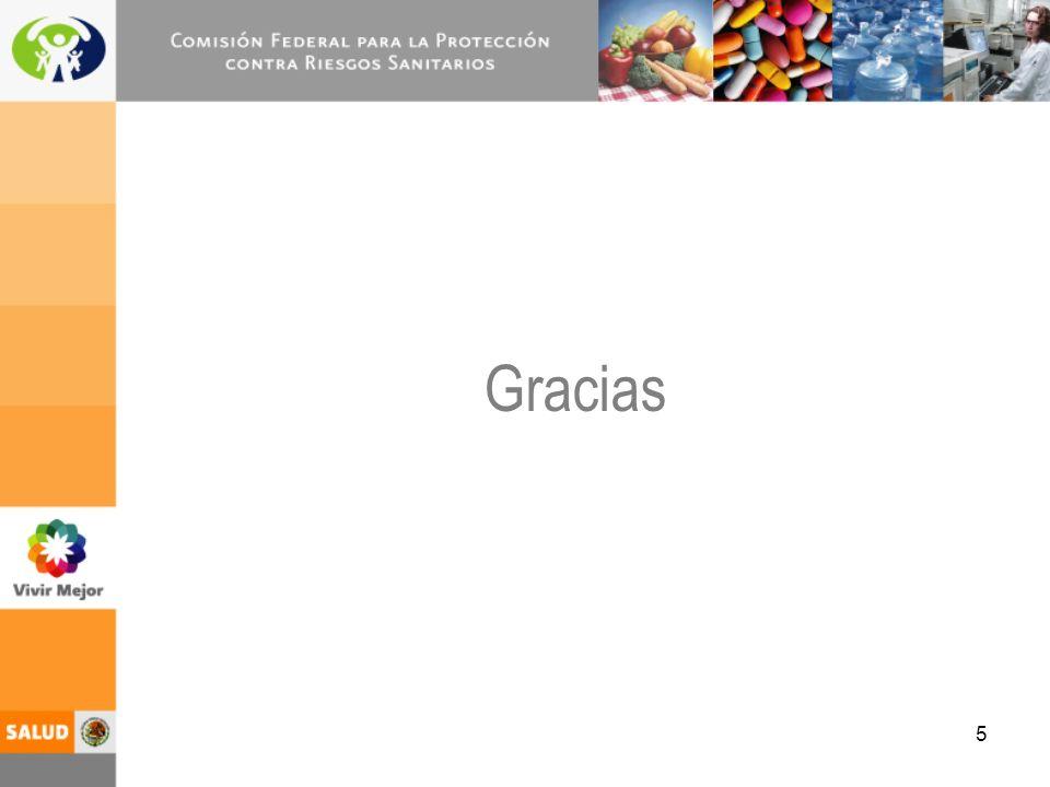 5 Gracias