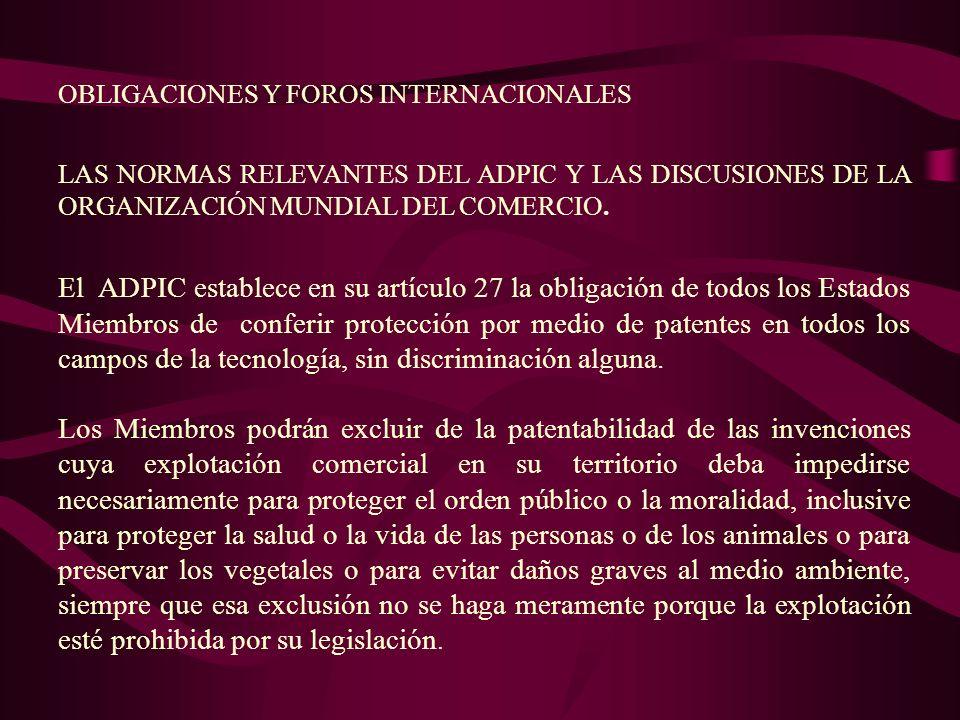 CAFTA: Cada Parte deberá ratificar o acceder una a El Convenio Internacional para la Protección de las Obtenciones Vegetales ( Acta de 1991 ).