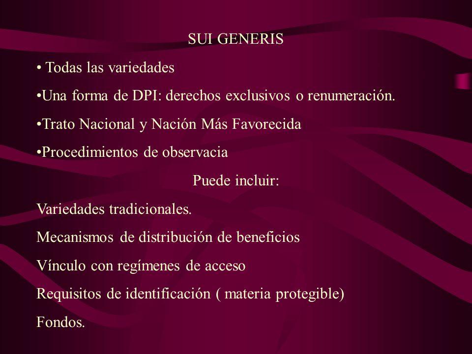 UPOV 91 Licencias obligatorias por causas de interés publico, con indemnización.