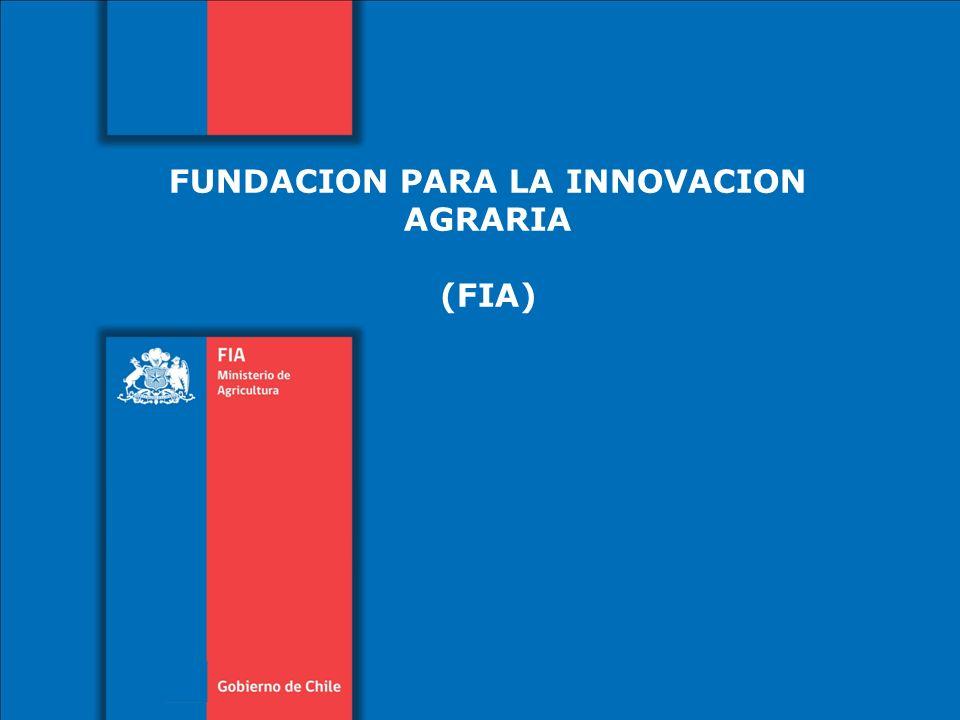 FUNDACION PARA LA INNOVACION AGRARIA (FIA)