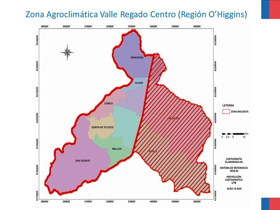 Características generales de la ZAC Valle Regado Centro Clima mesotermal inferior estenotérmico mediterráneo semiárido.